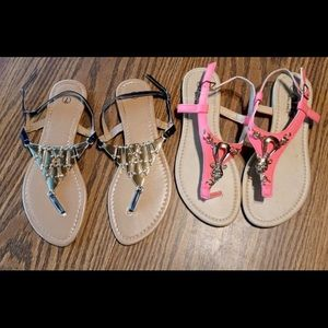 Woman's Sandals Size 7 Worn Once